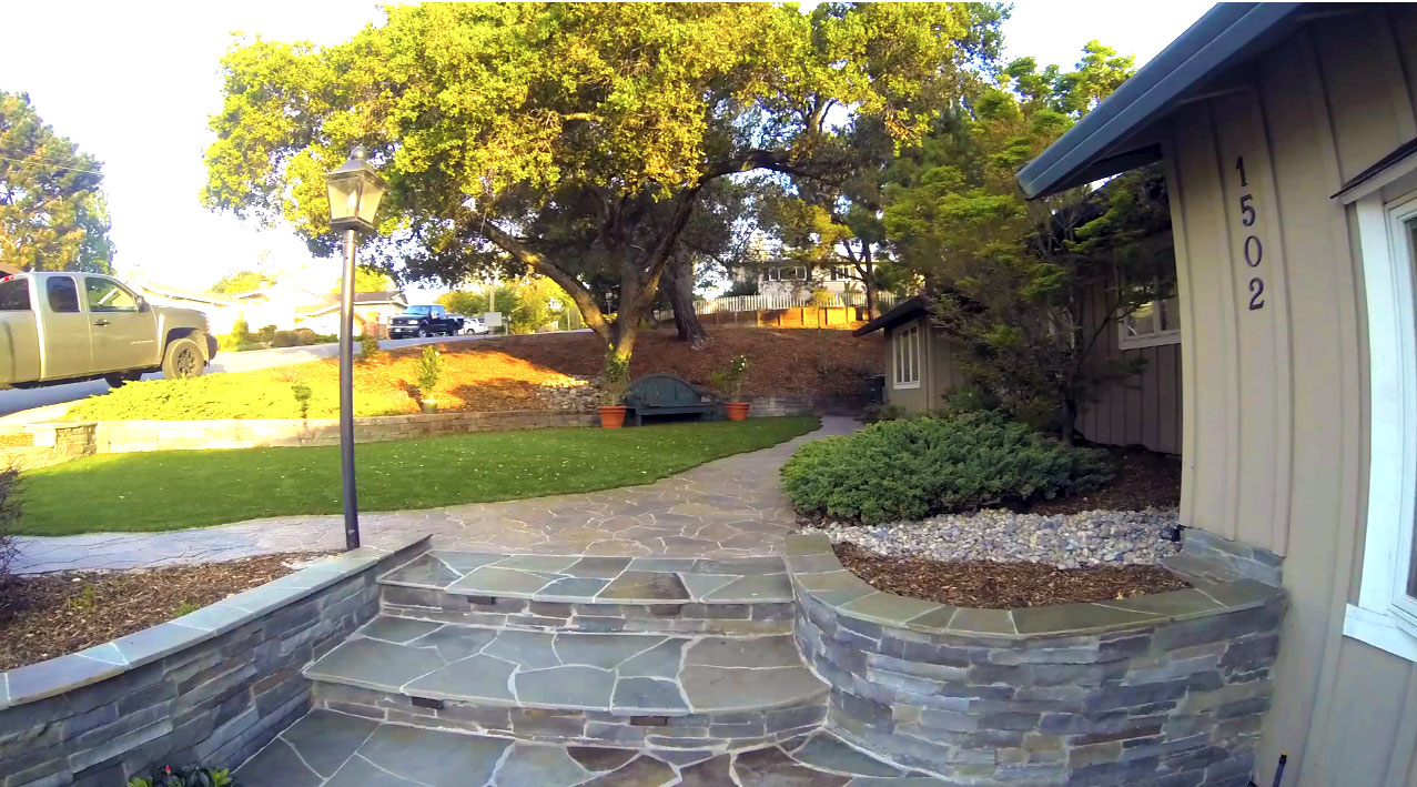 Sf Bay Area Landscaping Renovation Synthetic Turf Application